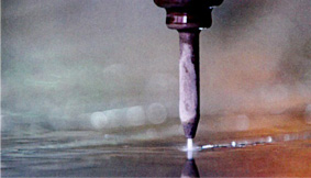 The Sprint cutting waterjet cutter
